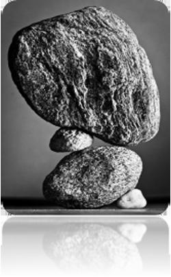 een evenwichtig bouwwerk